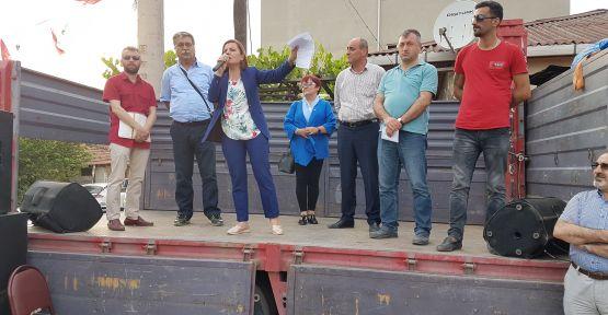 """Hürriyet """"CHP iktidarında tapu sorununu çözmezsem benim de adım Fatma olmasın"""""""