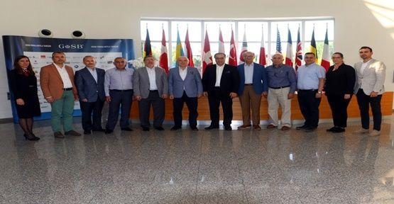 İMES OSB Yönetim Kurulu GOSB'u ziyaret etti