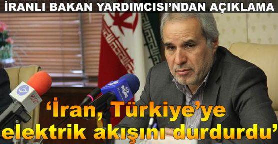'İran, Türkiye'ye elektrik akışını durdurdu'