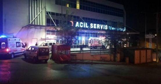 İstinat duvarından düşen Azerbaycan uyruklu kadın yaralandı