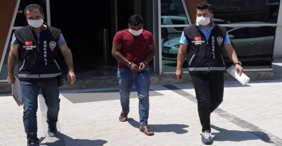 İzmit'te araç çalan şahıs Kandıra'da yakalandı