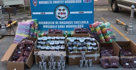 Kaçak Tütünler Kocaeli'den Geçemedi