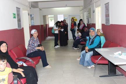 Kadınlara ücretsiz kanser taraması yapıldı