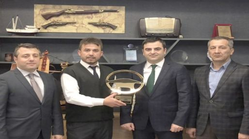 Kahraman şoföre ''Ayın Kaptan Şoförü'' ödülü