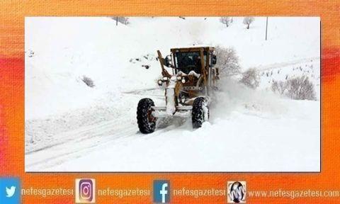 Kar Yağışı Nedeniyle Yollar Kapandı!