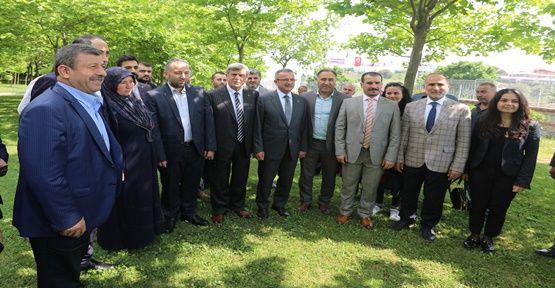 """Karaosmanoğlu, """"İstikrar için meclis çoğunluğu önemli"""""""