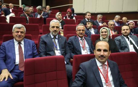 Karaosmanoğlu,AK Parti Genişletilmiş İl Başkanları Toplantısı'na katıldı