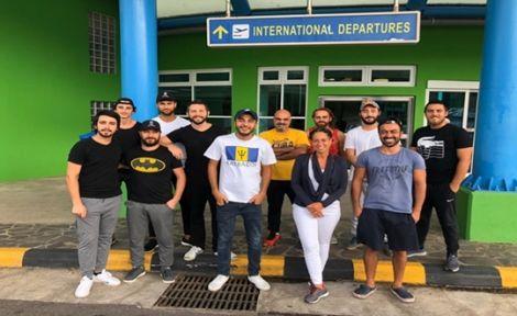 Karayip Denizi'nde Canouan Adasında Mahsur Kalan Gençler Yurda Döndü