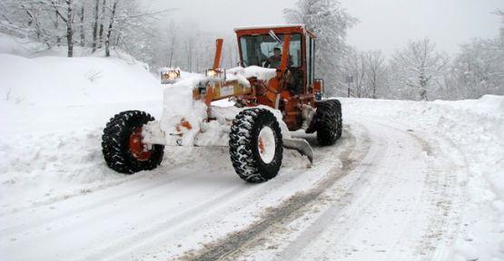 Karla mücadele ekipleri teyakkuzda!