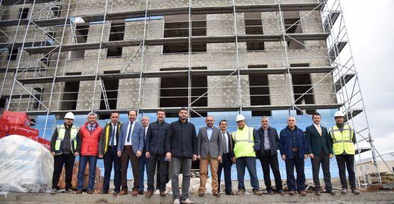Kartepe Belediyesi Hizmet binası tamamlanıyor
