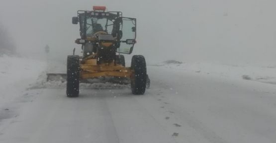 Kartepe'de kar kalınlığı 50 santimetreye ulaştı!