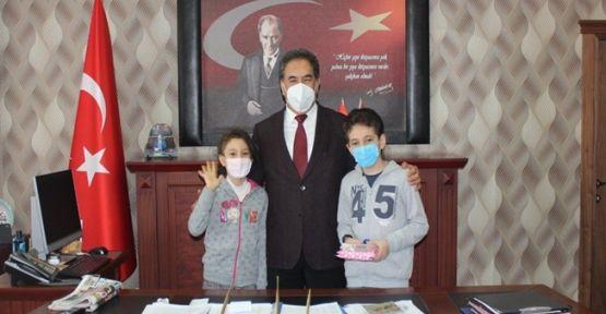 Kaymakam Güler Türkiye Birincisini Makamında Ağırladı
