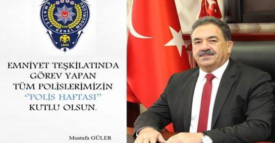 Kaymakam Mustafa Güler Polis Haftasını Kutladı!