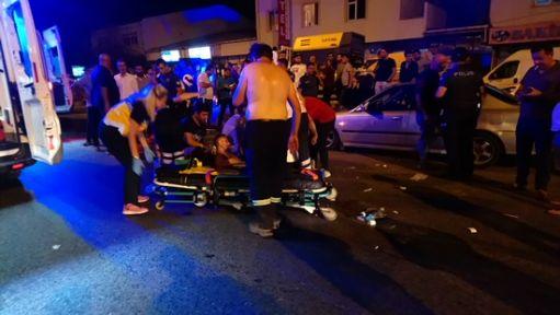 Kaza sonrası çıkan kavgada 3 yaralı