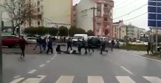 Kaza sonrası silahlar patladı!!