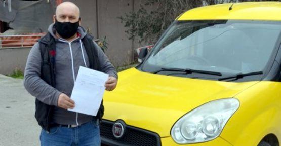 Kediyi ezip ölümüne neden olan sürücüye 1033 lira ceza!