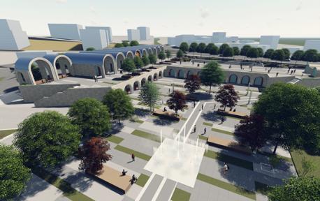 Kent Meydanı Projesi Başladı