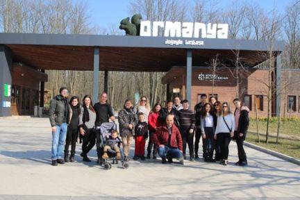 Kıbrıs'tan Ormanya'yı görmeye geldiler