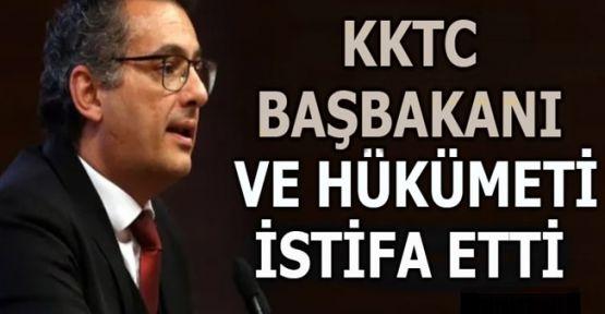 KKTC'de hükümet  istifa etti!