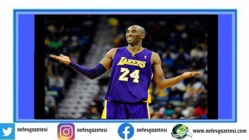 Kobe Bryant, helikopter kazasında hayatını kaybetti