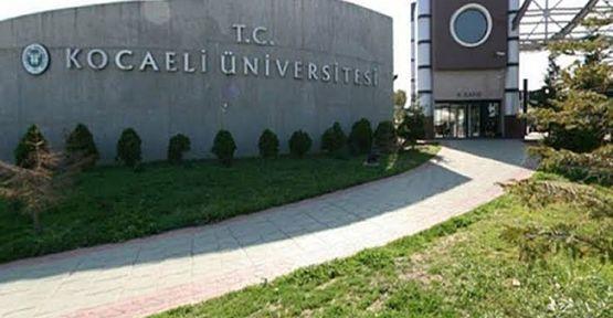 Kocaeli üniversitesi en az lise mezunu sözleşmeli personel alımı yapacak!