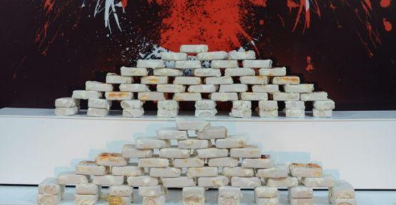 Kocaeli'de 52 kilo 500 gram eroin ele geçirildi