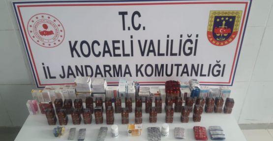 Kocaeli'de 7 bin 253 uyuşturucu hap ele geçirildi