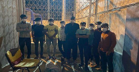 Kocaeli'de 9 kaçak göçmen yakalandı