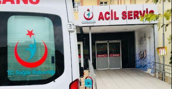 Kocaeli'de araç bariyerlere saplandı! 4 yaralı