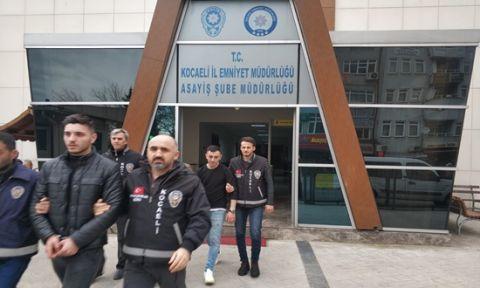 Kocaeli'de aranan 3 kişi yakalandı!