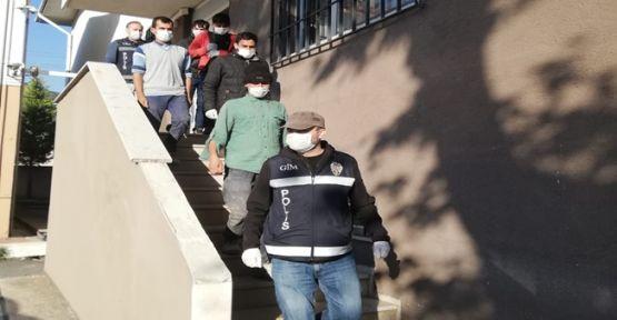 Kocaeli'de kaçak göçmen operasyonu!
