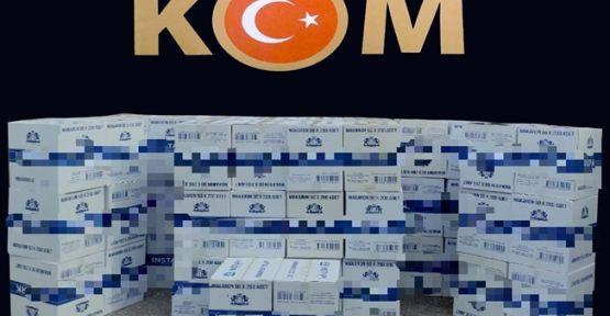 Kocaeli'de kaçak tütün operasyonu!