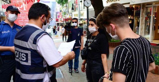 Kocaeli'de kurallara uymayan 132  kişiye ceza kesildi