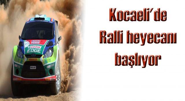 Kocaeli'de Ralli heyecanı başlıyor