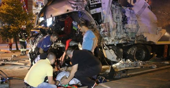 Kocaeli'de trafik kazası: 1 yaralı