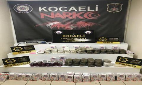Kocaeli'de uyuşturucu operasyonu : 20 gözaltı