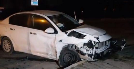 Kocaeli'de zincirleme kaza;4 yaralı!