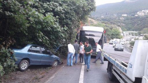 Kocaeli'de zincirleme trafik kazası: 6 yaralı