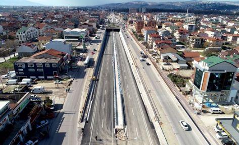 Köseköy Köprülü Kavşağı açılıyor