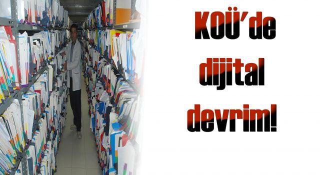 KOÜ'de dijital devrim!