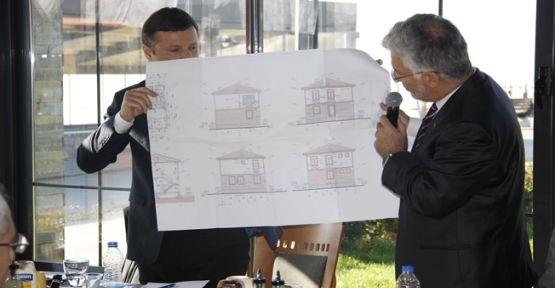 'Köylerde köy evi projesi'