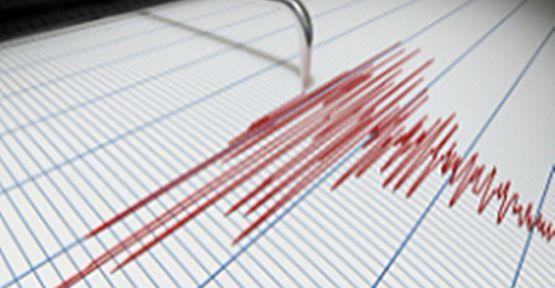 Maden ilçesinde 4.3 büyüklüğünde deprem!