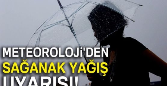 Marmara Bölgesi'nde Kuvvetli Yağış