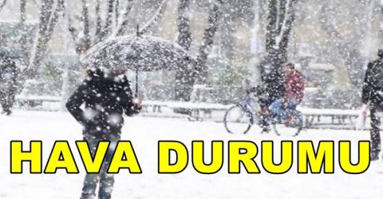 Meteoroloji Kar Yağışı İçin Uyardı!