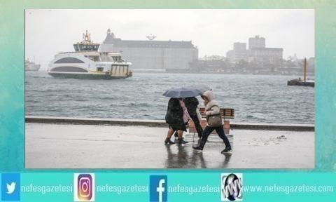 Meteoroloji Uyarmıştı Fırtına ve Yağış Başladı!