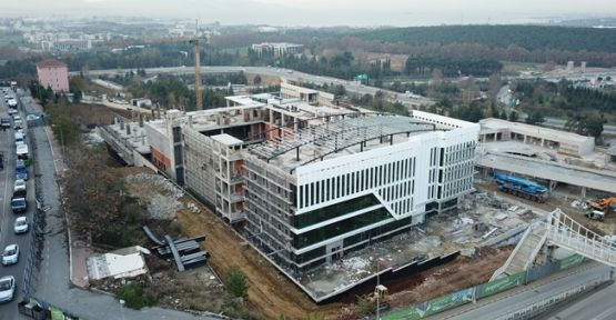 Necmettin Erbakan Kültür Merkezi Hızlı Yükseliyor