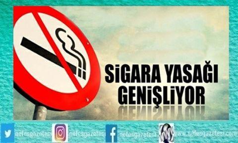 O Alanlarda Sigara Yasaklanıyor !