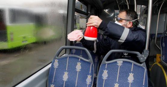 Otobüsler Nano Teknolojiyle Temizleniyor !