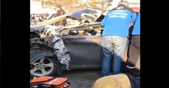 Otomobil ile Tır çarpıştı: 1 yaralı !
