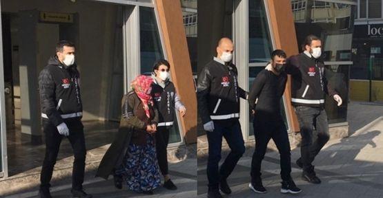 Otomobilden 200 bin lira çalan hırsızlar tutuklandı !